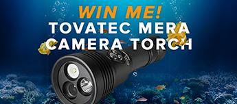 Win a Tovatec Mera Camera Torch