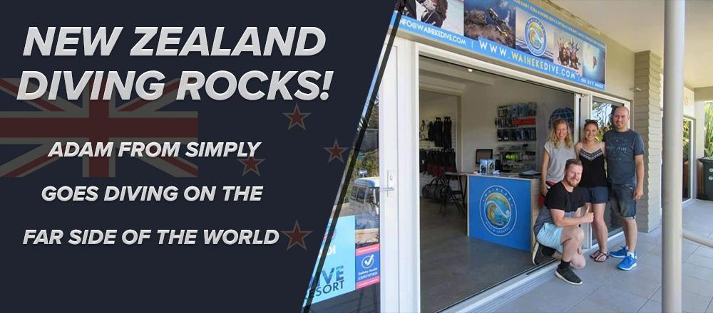 New Zealand Diving Rocks!