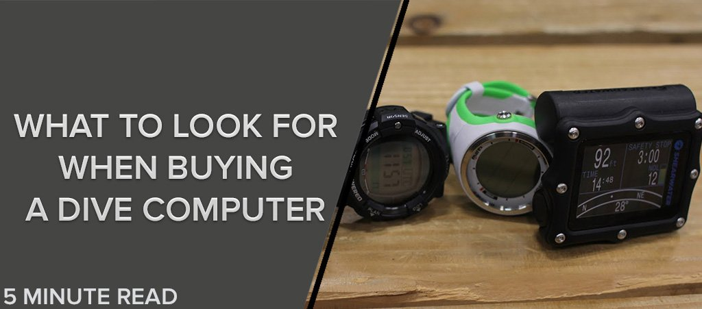 What To Look For When Buying A Dive Computer