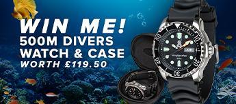 Win A Simply Scuba Dive Watch